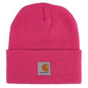 INSTOCK⭐️Carhartt watch hat Magenta Pink